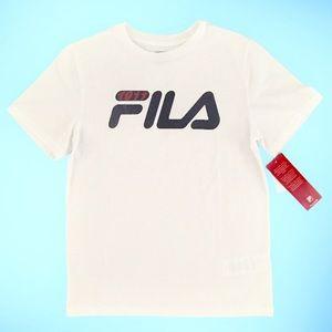 Fila boys t-shirt. Med 10/12